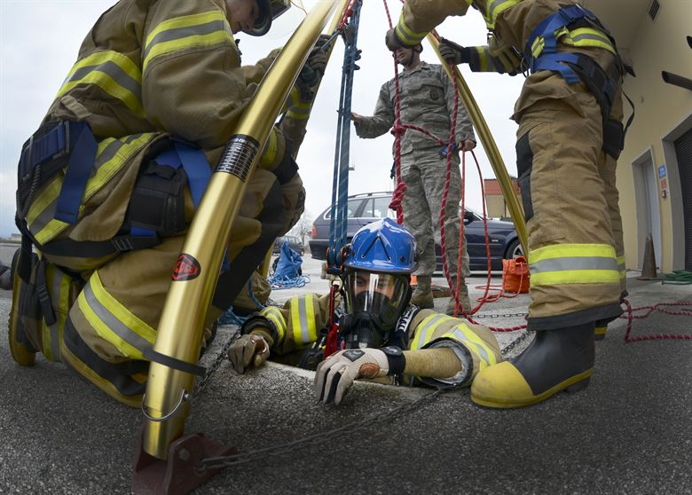 Firefighter III: Confined Space Rescue Technician