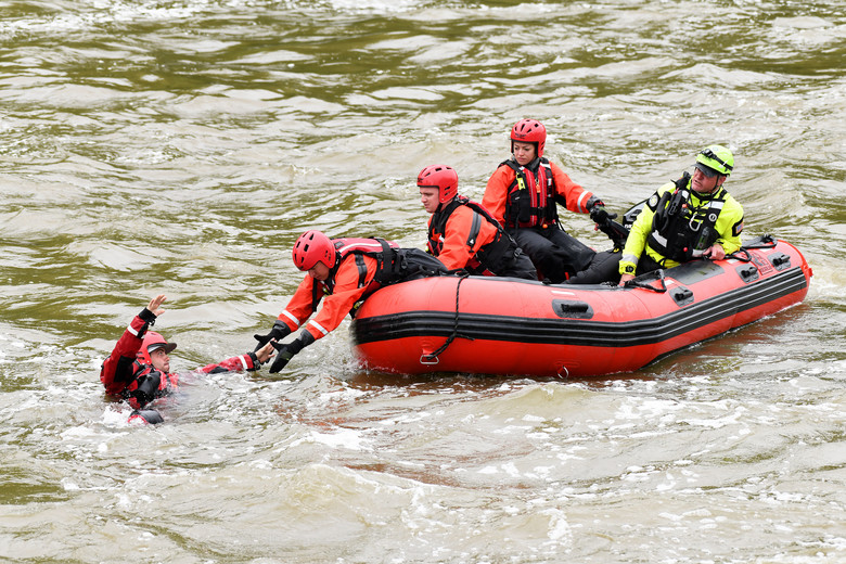 Swiftwater Rescue Boat Operator