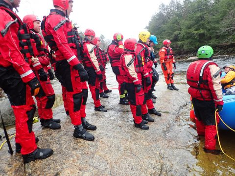 Swiftwater Rescue Level I