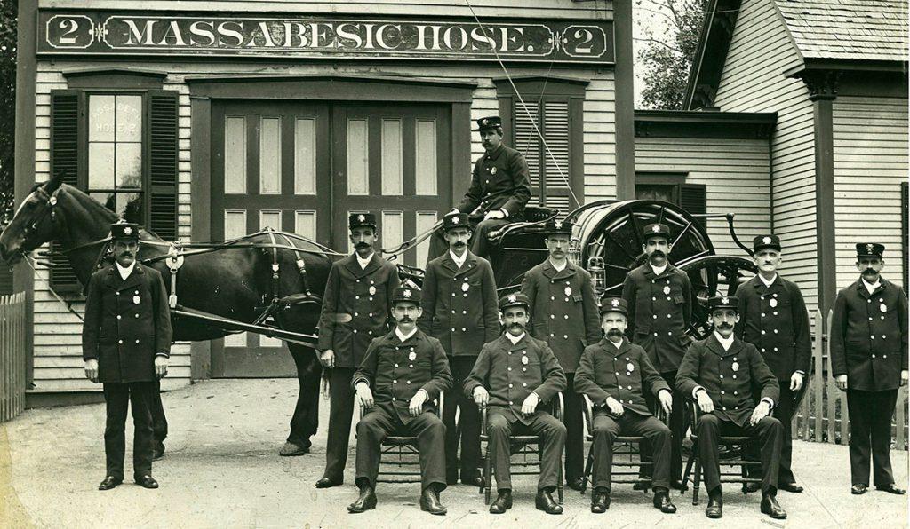 Massabesic Hose Company No.2, Manchester New Hampshire. Photo courtesy of the Manchester Historical Society